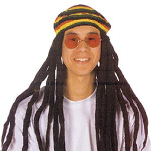 Tam Hat with Dreadlocks