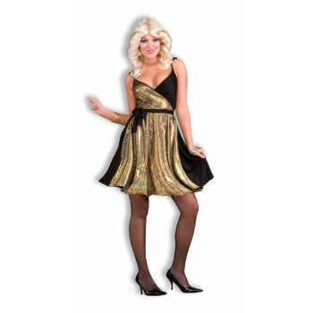 COSTUME-DISCO GOLD