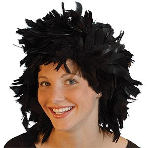Chandelle Feather Wig
