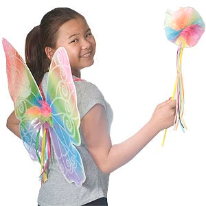 Rainbow Wings & Wand Set (Child)