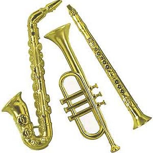 Gold Plastic Instruments