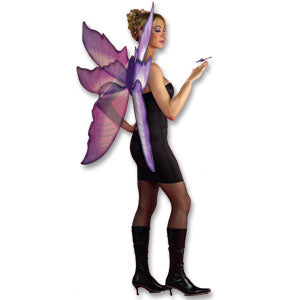 Purple Fairy Wings