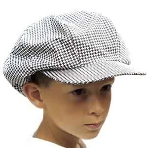 Houndstooth Newsboy