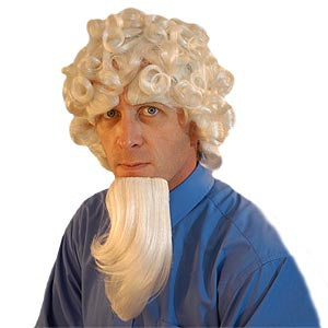Uncle Sam Wig Set