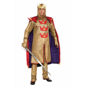 King Arthur Costume Men Size X-Large