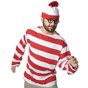 Waldo Costume Kit