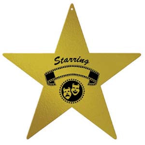 Awards Night Star Cutout