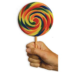 Jumbo Fake Lollipop