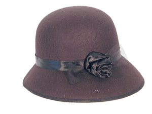 Boardwalk Lady's Hat - Cloche Hat