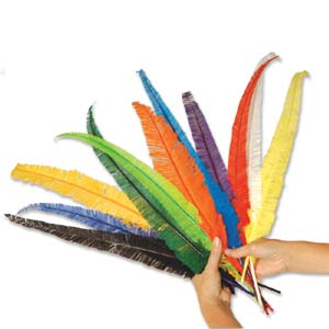Cut Feather Spears