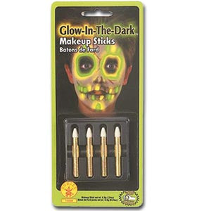 Glow in the Dark Makeup Sticks