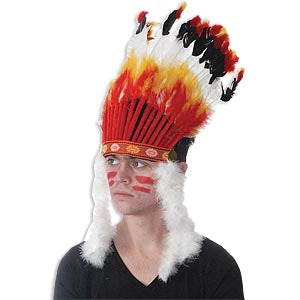 Big Chief Feather Headdress