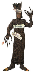 Adult Haunted Tree Costume with Signs