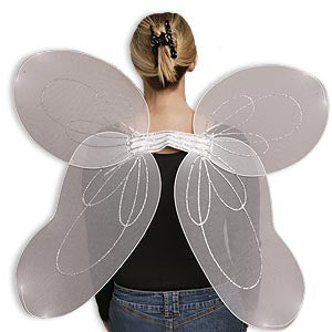 Sheer Angel Wings (Adult)