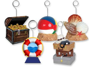 Beach Theme or Travel Photo/Balloon Holder
