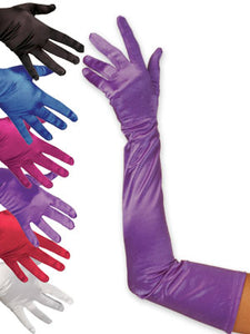 Satin Gloves:Shoulder