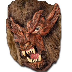 Wolf Mask with Moving Mouth