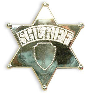 Sheriff Badge (Jumbo)