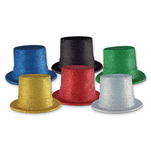 Glittered Top Hat
