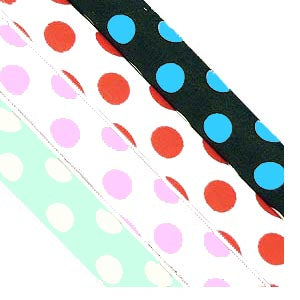 Polka Dots on Spandex *DS*