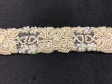 Ivory Scallop Beaded Trim