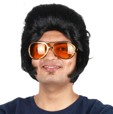 Elvis Wig with Sideburns