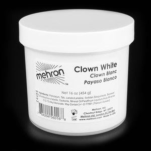 Clown White - Mehron - 16oz