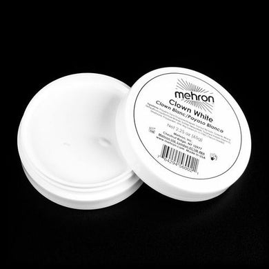 Clown White - Mehron - 2.25oz