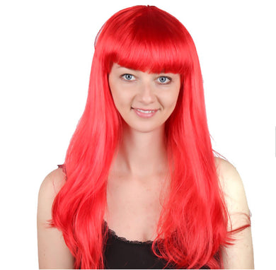 Long Hair Wig with Bangs