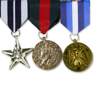 Military Medals w/Pin