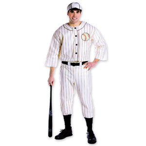 Old Time Baseball Player Costume