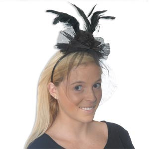 Fancy Feathered Headband