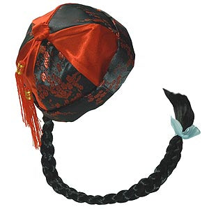 Chinese Cap With Braid