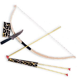 Bow, Arrow & Knife Set