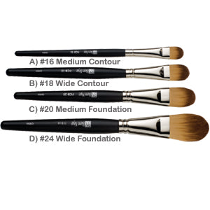 Foundation and Contour Brushes