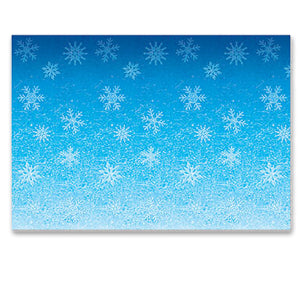 Frozen Snowflakes Backdrop