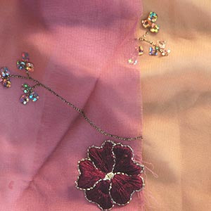 Chiffon Embroidered