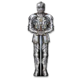 Medieval Suit of Armor Decoration