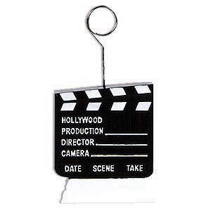 Clapboard Photo/Balloon Holder