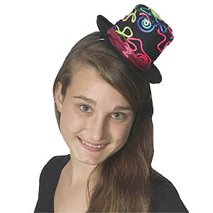 Neon String Top Hat (Mini)