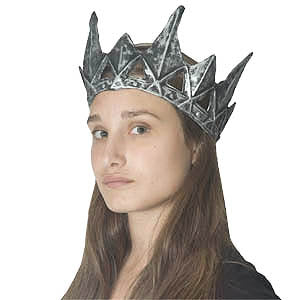 Medieval Pewter Crown