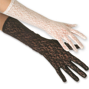 Lace Gloves:Elbow