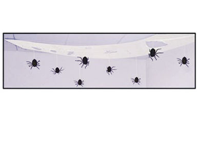Spooky Spider Ceiling Drape *DS*