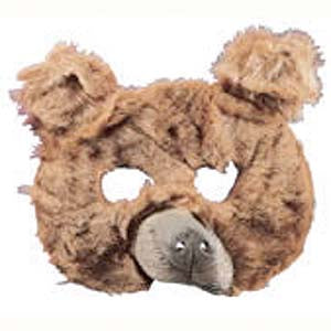 Plush Bear Mask