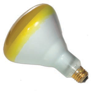120W BR40 Colored Flood Yellow