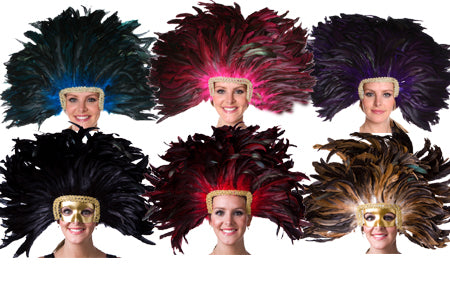 Headdress with Coque Feathers