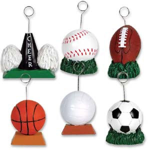 Sports Photo/Balloon Holder