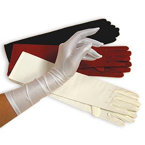 Matte Satin Gloves
