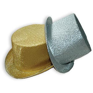 Sparkle Lame' Top Hat