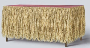 Raffia Table Skirting